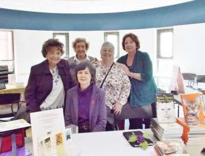 Pop-Up Shop at the Monroe Township Library with fellow author members of Sisters in Crime Central Jersey