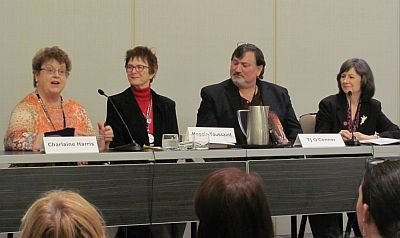 'Murder with a Touch of Woo-Woo' also featured authors Charlaine Harris, Maggie Toussaint and T.J. O'Connor.